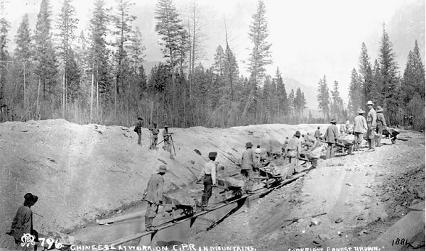 清明祭祖,加拿大华人请祭奠铁路华工