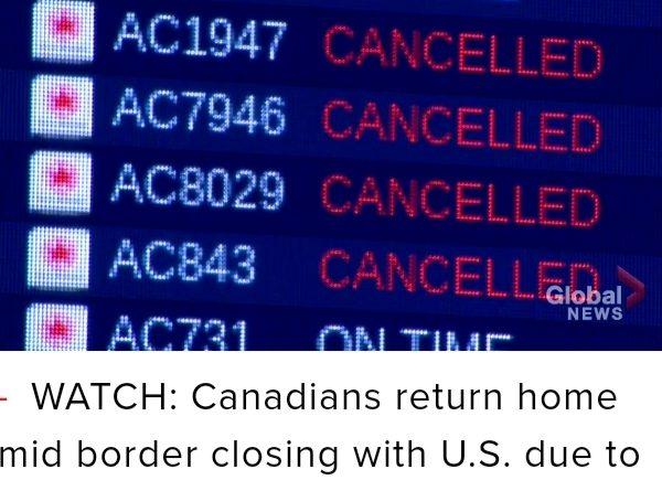 实时更新:加拿大冠状病毒情况