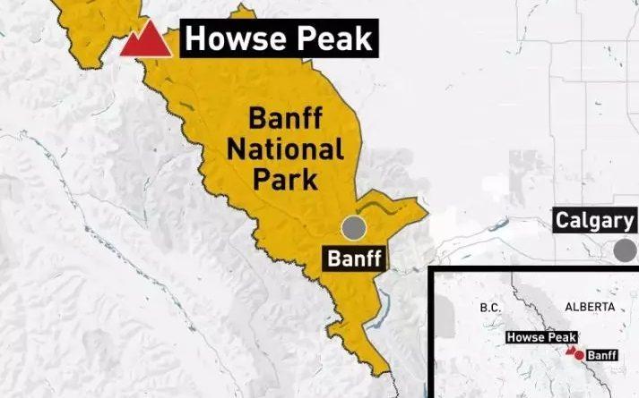 加拿大著名旅游胜地班芙(Banff) 3名登山者不幸死亡