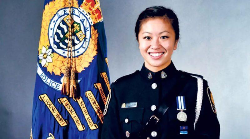 加拿大华裔女警察自杀:与男上司关系扑朔迷离